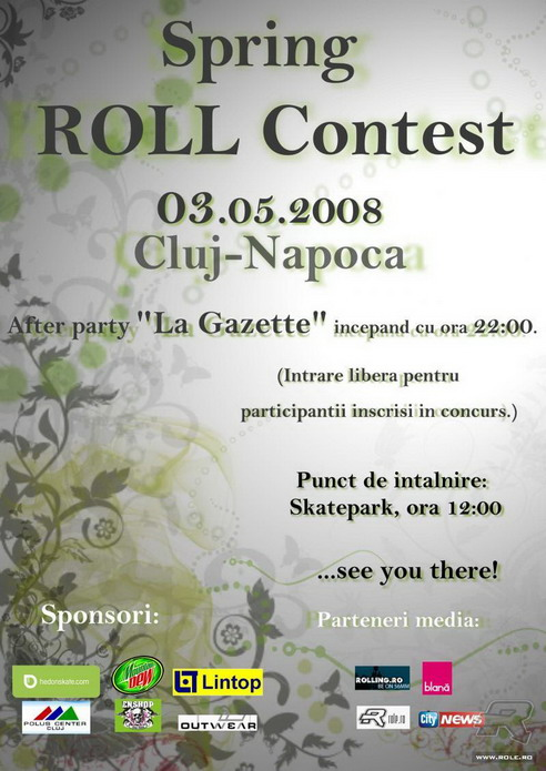 Spring Roll Contest