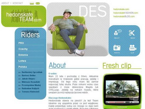 Jakub Olejarz - New Hedonskate Team Rider