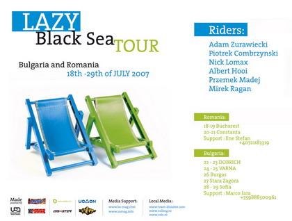 Hedonskate Lazy Black See Tour