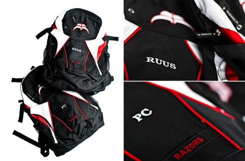Signature Razors Backpacks