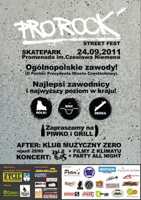 Pro Rock Street Fest