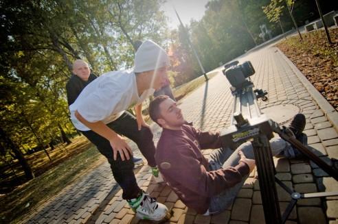 Krystian Zarzeczny - Behind the scenes